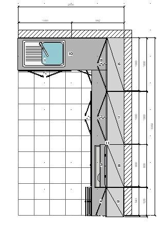 Cocinas y muebles closets economicos closets minimalistas for Medidas de muebles de cocina integral