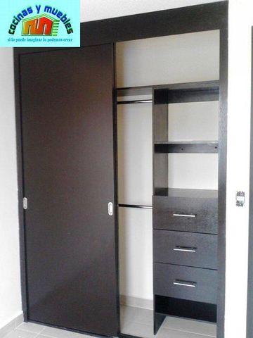 Closets economico en melamina llama al 42119803 www for Closet de madera modernos pequenos