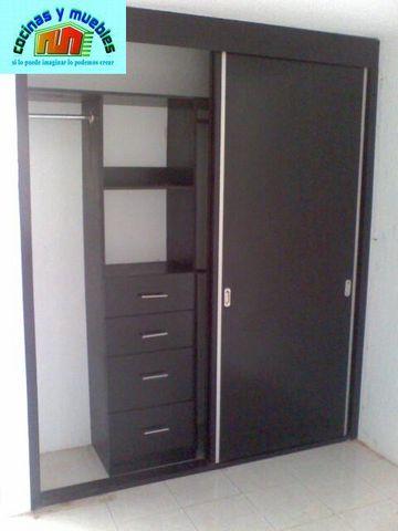 Closets economico en melamina llama al 42119803 www for Disenos de closets sencillos