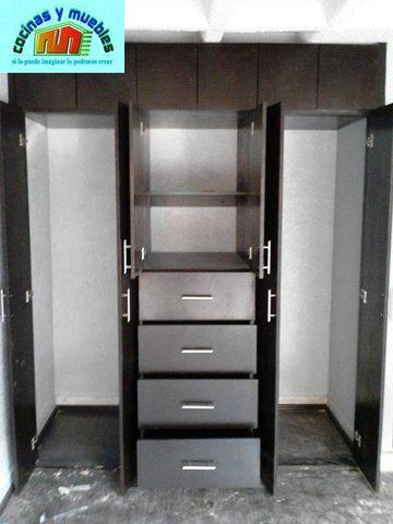 Closets minimalista economico llama 42119803 www for Fabrica de cocinas integrales economicas